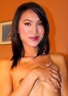 Asian Transsexual Smile